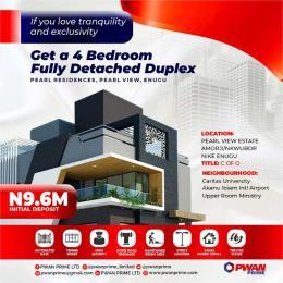 4 bedroom Detached Duplex House for sale 4 Bedroom fully detached duplex in Pearl Residence  Enugu Enugu
