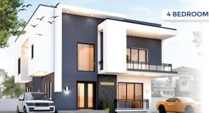 4 bedroom Detached Duplex House for sale Meridian Boulevard Estate, Ogombo Road, Ajah Ogombo Ajah Lagos