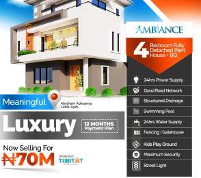 House for sale The Ambiance Atlantic layout Estate  Abraham adesanya estate Ajah Lagos