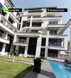 4 bedroom Massionette House for rent z Banana Island Ikoyi Lagos