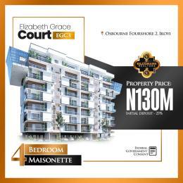 4 bedroom Massionette for sale Osborne Foreshore Estate Ikoyi Lagos