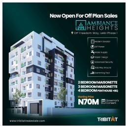 4 bedroom Massionette House for sale Off Freedom Way Lekki Phase 1 Lekki Lagos