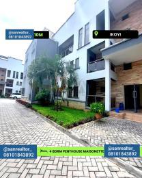 4 bedroom Massionette for rent Ikoyi Lagos