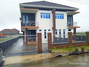 4 bedroom Semi Detached Duplex House for sale Behind the biggest SHOPRITE in Africa, sangotedo lekki Ajah.  Sangotedo Ajah Lagos