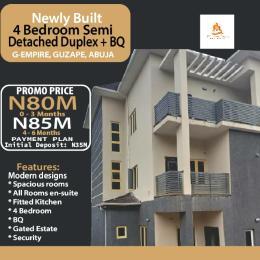 4 bedroom Detached Duplex for sale Guzape Guzape Abuja