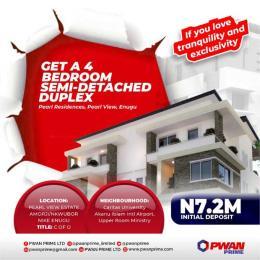 4 bedroom Semi Detached Duplex House for sale 4 Bedroom Semi detached duplex in Pearl Residence Estate Amorji Nkubor NIke Enugu Enugu