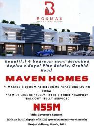 4 bedroom Semi Detached Duplex for sale Royal Pine Estate, Orchid Road, By Chevron Toll Gate Ikota Lekki Lagos