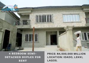4 bedroom Semi Detached Duplex House for rent Idado Lekki Lagos