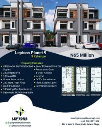 5 bedroom Semi Detached Duplex House for sale Behind Bon Hotel Katampe Main Katampe Main Abuja