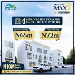 4 bedroom Semi Detached Duplex House for sale De Castle Max. chevron Lekki Lagos