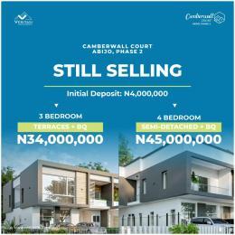 4 bedroom Semi Detached Duplex for sale Camberwall Advantage 2 Inside Abijo Gra. 4 Minutes Drive From Novare Mall (shoprite Sangotedo) Abijo Ajah Lagos