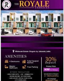 4 bedroom Semi Detached Duplex House for sale White Oak Estate By Jakande Ologolo Lekki Lagos