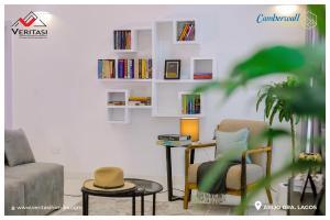 Semi Detached Duplex House for sale :   Inside Abijo GRA.  4 minutes' drive from Novare Mall (ShopRite Sangotedo) Abijo Ajah Lagos