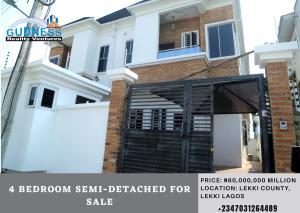 4 bedroom Semi Detached Duplex House for sale : Lekki County Ikota Lekki Lagos