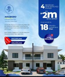 4 bedroom Detached Duplex for sale Magboro, Ikeja, Opic Arepo Arepo Ogun