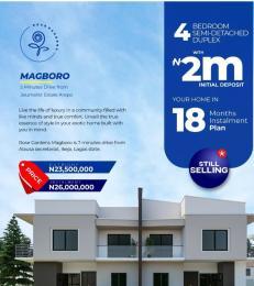 4 bedroom Semi Detached Duplex House for sale Rose Garden Estate Magboro Arepo Arepo Ogun
