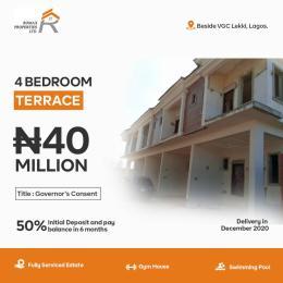 4 bedroom Terraced Duplex House for sale VGC Lekki Lagos