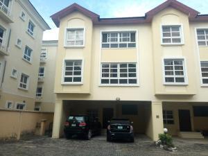 4 bedroom Terraced Duplex House for rent Bourdillon Court Estate  chevron Lekki Lagos
