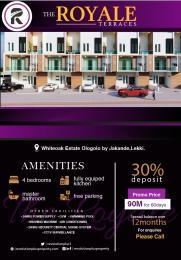 4 bedroom Terraced Duplex House for sale White Oak estate Ologolo Lekki Lagos