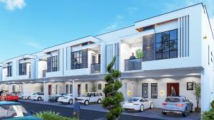 Terraced Duplex House for sale Pleasant ville Homes New Road bustop  alpha beach rd   chevron Lekki Lagos