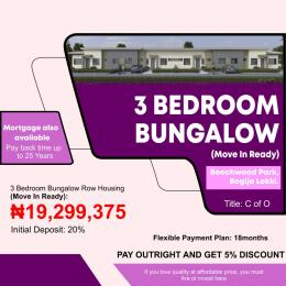 3 bedroom Semi Detached Bungalow House for sale Beechwood Park Bogije Sangotedo Lagos
