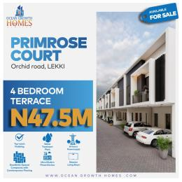4 bedroom Terraced Duplex House for sale Orchid Hotel Road,Lekki chevron Lekki Lagos
