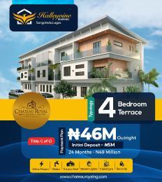 4 bedroom Terraced Duplex for sale Halleyvine Residences Near Novare Shoprite Monastery road Sangotedo Lagos