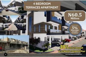 4 bedroom Terraced Duplex House for sale Opposite Nicon Town in Lekki Nicon Town Lekki Lagos