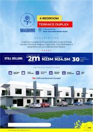 4 bedroom Terraced Duplex for sale 8 Minutes From Alausa Ikeja Secretariat Magboro Obafemi Owode Ogun