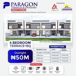 4 bedroom Terraced Duplex for sale 5 Minutes From Abraham Adesanya Estate Okun Ajah Ajah Lagos