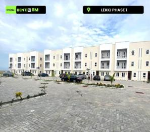 4 bedroom Terraced Duplex House for rent z Lekki Phase 1 Lekki Lagos