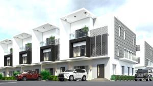 4 bedroom Terraced Duplex House for sale Aliyu Mohammed Street, Life-camp, Abuja Life Camp Abuja