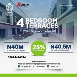 4 bedroom Terraced Duplex House for sale Sangotedo Lagos