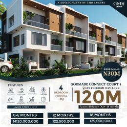 4 bedroom Terraced Duplex for sale Godmade Connect Court 4, Off Freedom Way Lekki Lagos