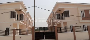4 bedroom Terraced Duplex House for sale  Charis Court 1 Estate, Off Orchid Road By Eleganza Bust/stop  Nicon Town Lekki Lagos