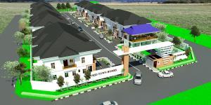 4 bedroom House for sale Before Lagos Business School, By General Paint Ajiwe Ajah Lagos