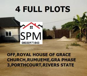 Mixed   Use Land Land for sale Off Royal House Of Grace Church,Rumueme,GRA Phase 3 New GRA Port Harcourt Rivers