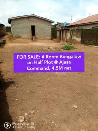 4 bedroom Detached Bungalow House for sale Ajasa command Orisunbare Alimosho Lagos