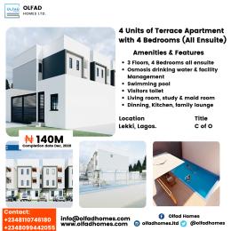 4 bedroom Boys Quarters Flat / Apartment for sale Lekki Phase 1 Lekki Lagos
