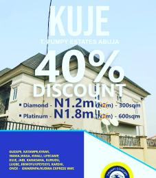 5 bedroom Residential Land Land for sale Behind Hotel De Barbados, along Living faith church road, Kuje Kuje Abuja