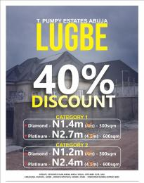 4 bedroom Residential Land Land for sale BEHIND AMAC MARKET, LIVING FAITH CHURCH. Lugbe Abuja