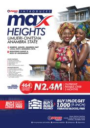 Land for sale Mgbede, Umueri, Anambra East Local Government, Anambra Anambra