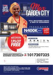 Land for sale Max Garden City, Ibadan Oyo