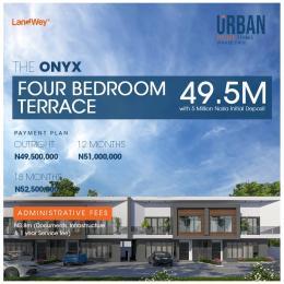 4 bedroom Terraced Duplex House for sale Lekki garden Abraham adesanya estate Ajah Lagos