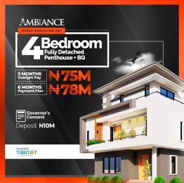 4 bedroom Detached Duplex for sale Abraham Adesanya Roundabout Ajah Lagos