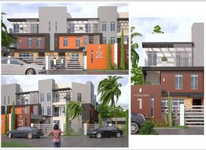 4 bedroom Terraced Duplex House for sale Behind Updc Estate, (right Side Of Lekki Phase 1) Lekki Phase 1 Lekki Lagos