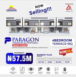 4 bedroom Terraced Duplex for sale Abraham Adesanya Roundabout Lekki Scheme 2 Okun Ajah Ajah Lagos