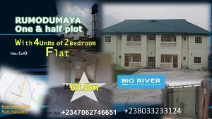 2 bedroom Blocks of Flats House for sale Eliozu Port Harcourt Rivers