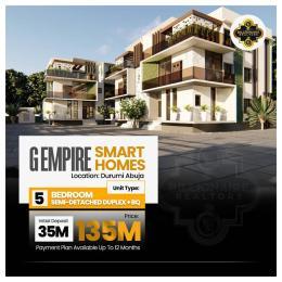 Semi Detached Duplex for sale G Empire Smart Home, Durumi Abuja