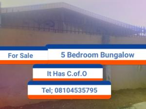 5 bedroom Terraced Bungalow House for sale Giwa Amu, Airport Road Oredo Edo